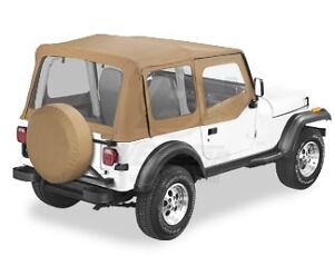 88 95 Jeep Wrangler Yj Spice Replacement Soft Top