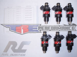 Rc 550cc Fuel Injectors Vr4 R T Rt Turbo Tt 550 Cc New