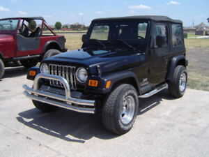 Jeep Wrangler 1987 2006 Stainless Dual Tube Front Bumper