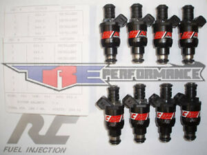 Rc 550cc Fuel Injectors Bmw 540i 740i M5 Z8 Bosch New