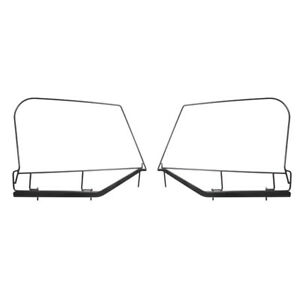 97 06 Jeep Wrangler Tj Soft Top Upper Door Skin Frames