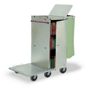 Royce Rolls f36 Stainless Steel Std size Folding Housekeeping Cleaning Cart