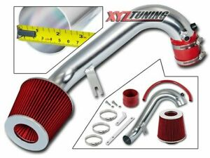 2 5 Red Jdm Short Ram Air Intake Induction Kit Filter For 01 05 Civic 1 7l L4