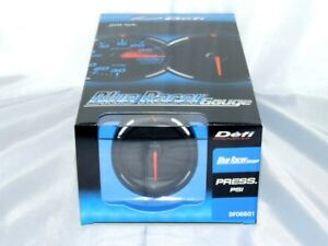 Defi Blue Racer Electronic Oil Fuel Pressure Gauge