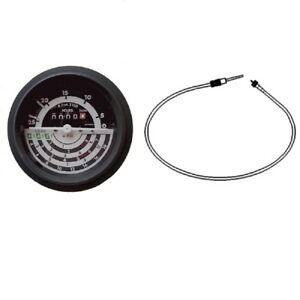 Tachometer And Cable Made To Fit John Deere 2840 3030 3130