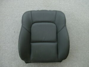 04 09 Mazda 3 Black Leather Right Front Seat Back