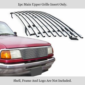 Fits 1993 1997 Ford Ranger Billet Main Upper Grille Insert