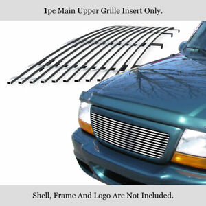 Fits 1998 2000 Ford Ranger Main Upper Billet Grille Insert