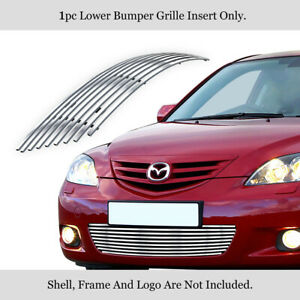 Fits 2004 2006 Mazda Mazda 3 Hatchback Sport Lower Bumper Billet Grill