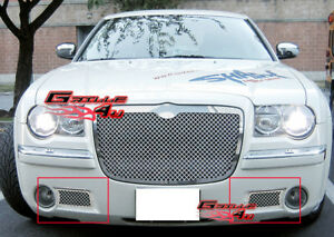 Fits 2005 2010 Chrysler 300c Lower Bumper Stainless Steel Mesh Grille