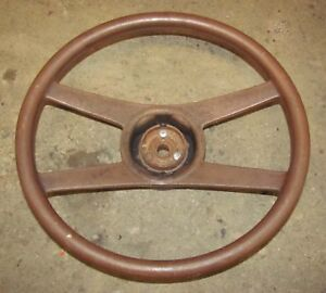 Camaro Nova 4 Spoke Sport Steering Wheel 76 Corvette