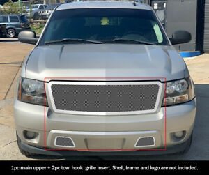 Fits 2007 2011 Tahoe Suburban Avalanche Mesh Grille Combo