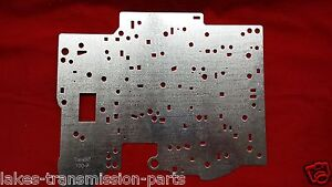Transgo 700r4 700 4l60 New Updated Valve Body Seperator Plate 1982 1993