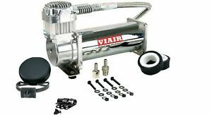 Viair 444c 12v Dc Single Chrome Air Compressor 200 Psi Max With Free Shipping