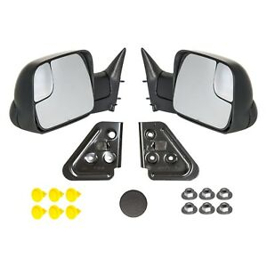 1998 2001 Dodge Ram 1500 And 1998 2002 Dodge Ram 2500 3500 Manual Tow Mirrors Oe