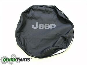 97 18 Jeep Wrangler Jk Body 02 07 Jeep Liberty Spare Tire Anti theft Cover Oem