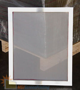 6 Pack 20x24 Aluminum Frame Printing Silk Screen 156 Tpi Mesh For Manual Press