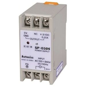 Power Supply Autonics Sp 0305 5vdc Din Rail Mounting