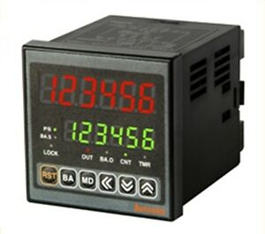Digital Timer counter Autonics Ct6m 2p4 Dual Preset Batch Counting
