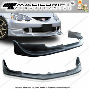 For Acura Rsx Dc5 Integra Cw Style Front Bumper Chin Lip Body Kit