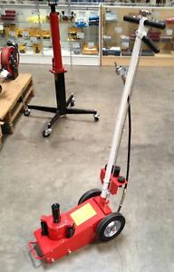 22 Ton Air Hydraulic Floor Jack Lift Truck Trailer Auto Air Bottle 22ton