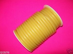 50 Foot Reel 3 16 I d X 1 16 W X 5 16 O Amber Rubber Latex Tubing Surgical Tube