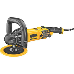 Dewalt 849px Variable Speed Buffer Polisher With Soft Start
