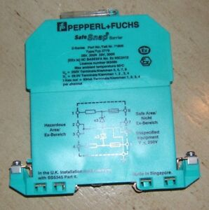 Pepperl Fuchs Z779 Z Series Safe Snap Barrier Diode 250v Without Box Nwob New