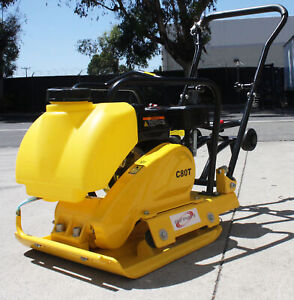 6 5hp 196cc Gas Power Walk Behind Dirt Plate Compactor Tamper Rammer W Tank