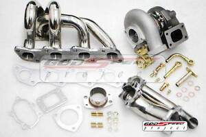 Td05 Td 05 Manifold 18g Turbo Charger Kit 380hp For Nissan S13 S14 240sx Ka24de