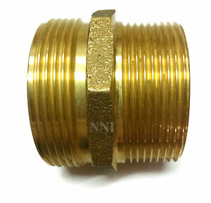 Nni 2 1 2 Male Npt Mipt X 2 1 2 Male Nh Nst Fire Hydrant Adapter Hsr a2525mm