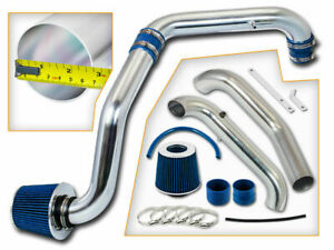 Blue Cold Air Intake Induction Kit Filter For 96 00 Civic Cx dx lx 1 6l L4