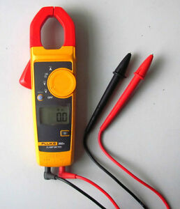 New Fluke 302 Digital Clamp Meter Ac Multimeter Tester W Case
