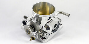 Accufab 75mm Mustang 5 0l Polished Throttle Body 302 1986 1993 V8 Gt Lx Cobra