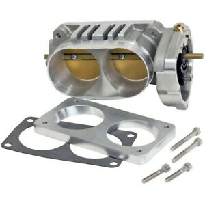 Bbk Power Plus Twin 65mm Intake Throttle Body Tb 07 11 Mustang Gt500 Truck V10