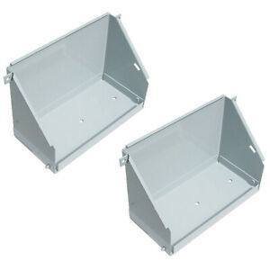 108016a Battery Box Pair For White Oliver Tractors 1550 1600 1650 1800 2 70