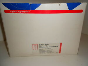 Box Of 500 Nos Eppendorf Pipette Tips 2235086 2 22350862 2 5ml