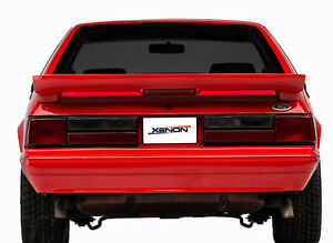 87 93 Mustang Lx Xenon Urethane Factory Replacement Rear Bumper Cover New 12854