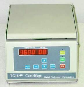 New Benchtop Microcentrifuge Tg16 w 30 Off Summer Sale