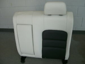 Mazda 6 Mazdaspeed Black White Leather Left Rear Seat Back