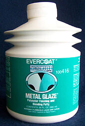Evercoat Metalworks 416 Metal Glaze Auto Body Polyester Finishing Putty