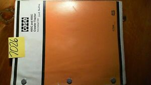 Case 450c 455c Crawler Tractor Parts Catalog Manual 8 1930 r3 2 87