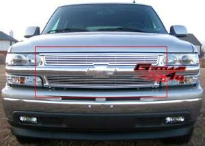 Fits 1999 2002 Chevy Silverado 1500 2000 2006 Tahoe Perimeter Main Upper Grille