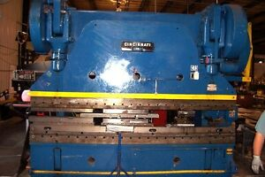 400 Ton X 12 Cincinnati Power Press Brake Cnc Back Guage Metal Bending 13 8