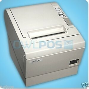 Epson Tm t88ii M129b Pos Thermal Receipt Printer Serial Port Refurb Free Ship
