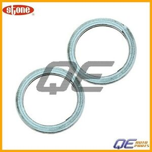 2 Exhaust Pipe Flange Gasket Stone For Lexus Es300 Toyota Avalon Camry Tacoma