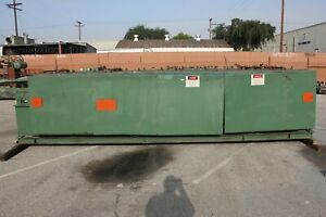 12 Stand 48 Roll Space 3 1 2 Shaft Bradbury Rollformer Sheet Metal Panel Form
