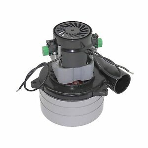 New Tennant Sweeper Scrubber Vaccum Motor 3 Stage Fan 36vdc P n 130413