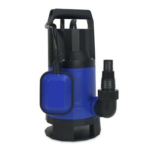 1 2 Hp 2000gph Submersible Dirty Clean Water Pump Flooding Pond Swimming Pool