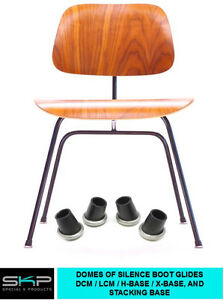 Dcm Lcm Chair Rubber Boot Glides For Herman Miller Eames H Base X Base Parts